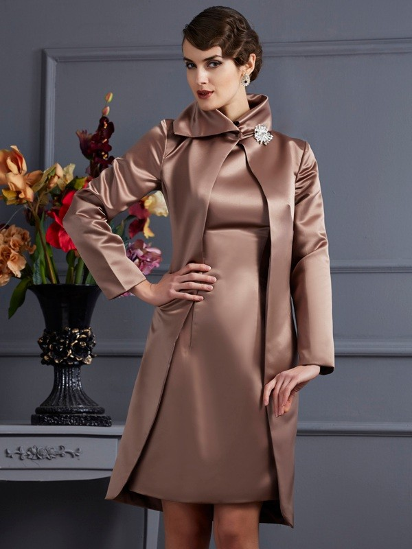 8be5c047cac17 Satin Long Sleeves Special Occasion Wrap - Promlily Online
