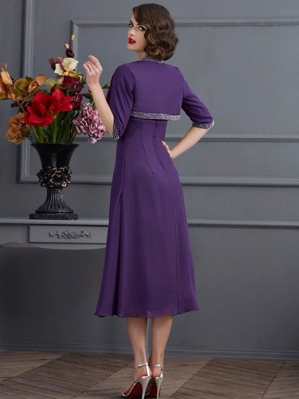 0d6469313d04c Chiffon 1/2 Sleeves Special Occasion Wrap - Promlily Online