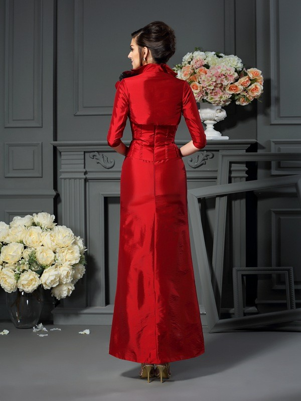 a7739ef99daf0 Taffeta 1/2 Sleeves Hand-Made Flower Special Occasion Wrap - Promlily Online