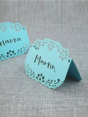Pretty Table Number Cards(100 Pieces)