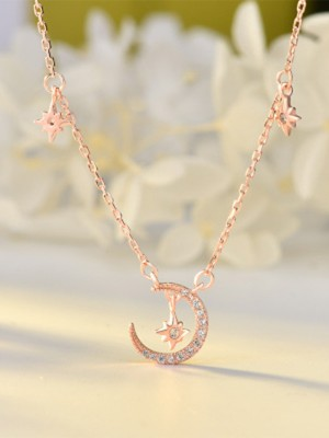 Charming S925 Silver Ladies's Necklaces