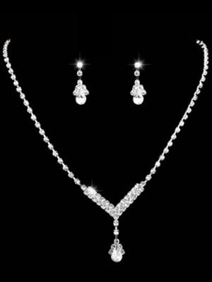 Gorgeous Rhinestone Ladies's Jewelry Set