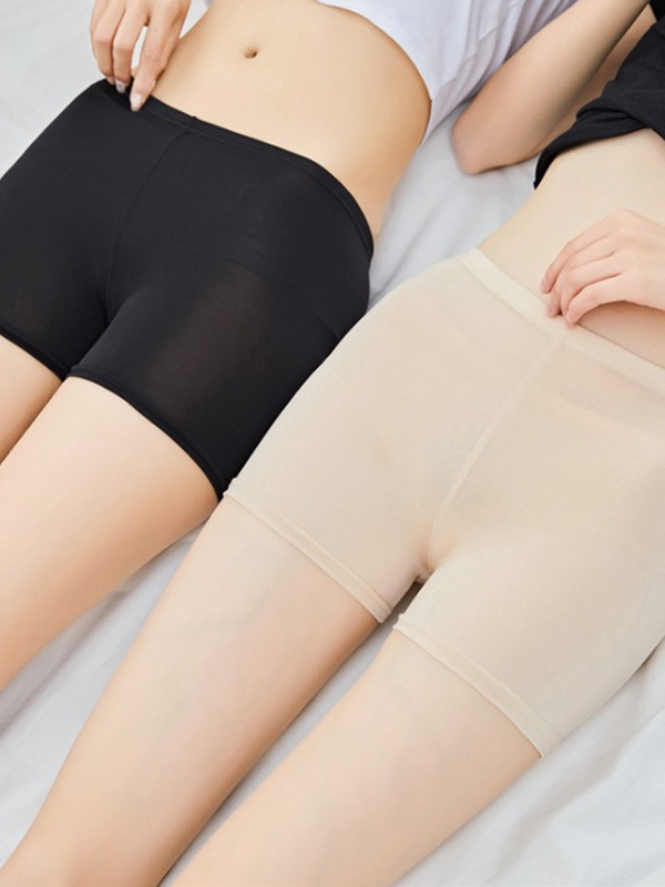 New Women's Polyester Fiber Elastic Safety Pants/Safety Shorts