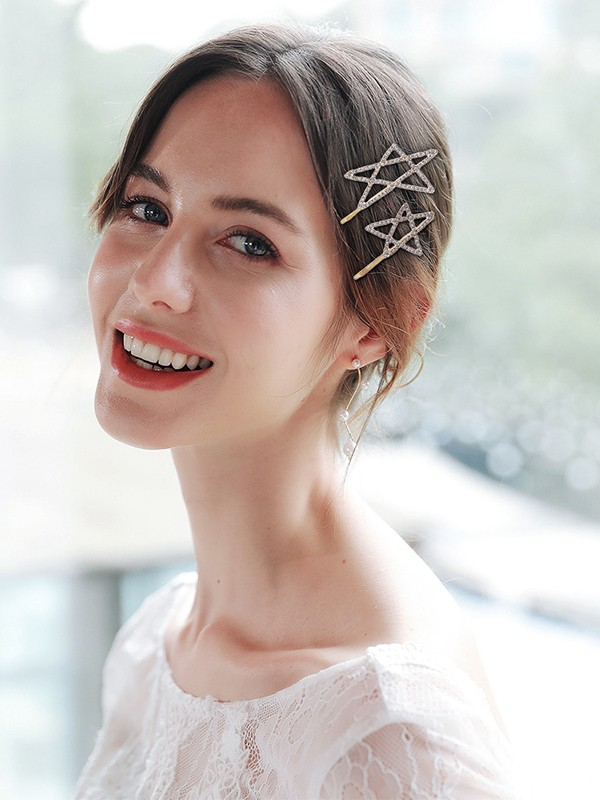 Fascinating Alloy With Rhinestone Hairpins(3 Pieces)