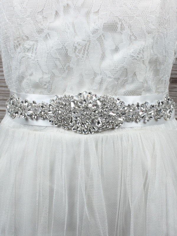 Trending Cloth Sashes With Rhinestones