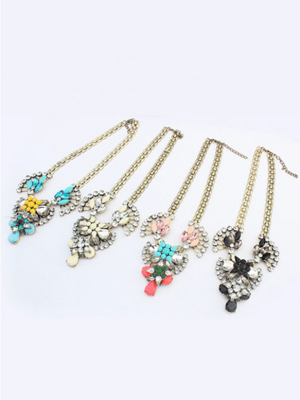 Occident Major suit Retro Hyperbolic Personality Hot Sale Necklace