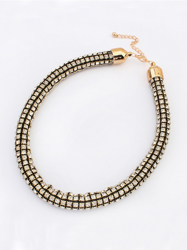 Occident Hyperbolic Major suit Flash drilling Hot Sale Necklace