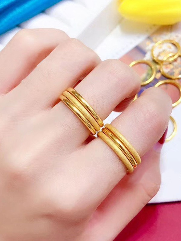 Fashion Gold Hot Sale Rings