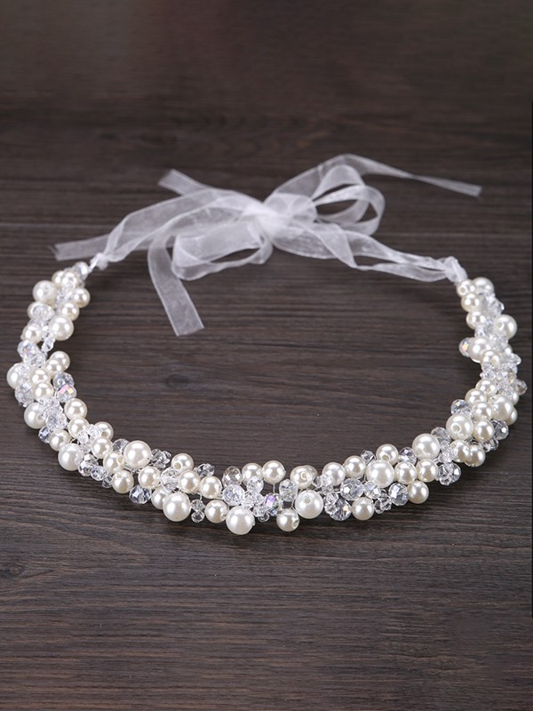 Gorgeous Flowers Pearl Headpieces