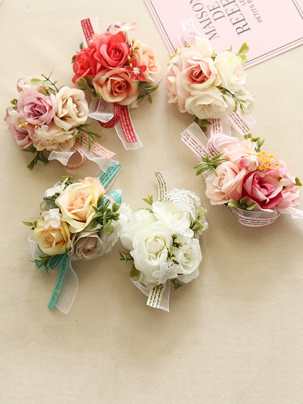 Fashion Cloth Wrist Corsage