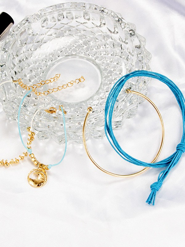 Vintage Alloy With Moon Hot Sale Bracelets(4 Pieces)