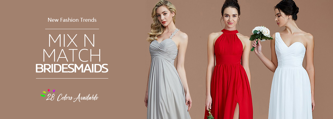 Bridesmaid Dresses 2018, Stylish Bridesmaid Dresses For Wedding ...